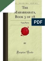 The Mahabharata- Book 3 of 18- Vana Parva