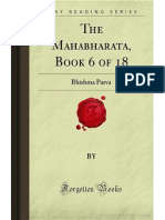 The Mahabharata- Book 6 of 18- Bhishma Parva