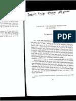 A. Benaroya, A Note on the Socialist Federation of Saloniki
