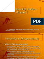 Entrepreneurship Studies Chapter 1 1232804769353991 2