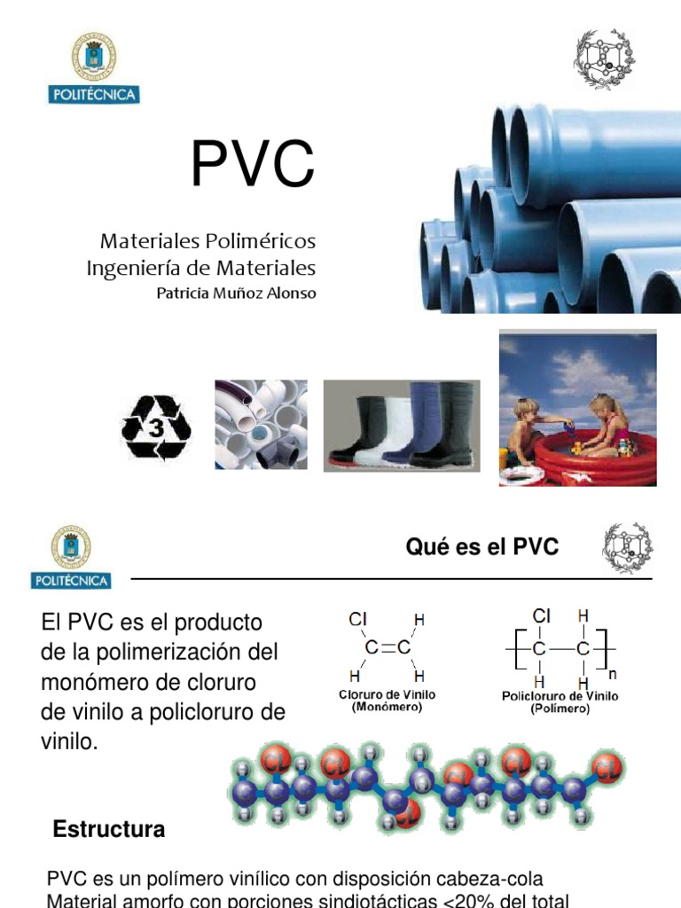Pvc Cloruro De Polivinilo Polímeros