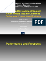 Can the MICs reach the social MDGs? How inclusive and sustainable are Asia's social protection systems in Asia? (Presentation)