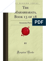 The Mahabharata- Book 13 of 18- Anusasana Parva