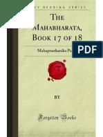 The Mahabharata- Book 17 of 18- Mahaprasthanika Parva