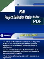 Explicación PDRI
