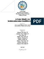 27589683 Undifferentiated Schizophrenia
