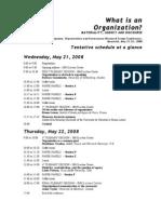 Log Conference Program