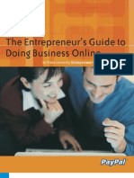 Online Business Guide Entrepreneur 30 Pgs PDF