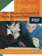 Online Business Guide Entrepreneur 30 Pgs PDF