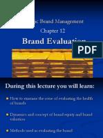 Brand Valuation