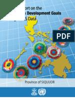 MDG Provincial Report 2010 Siquijor