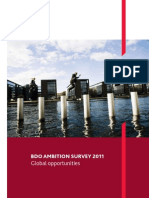 BDO Ambition Survey 2011 - Global Opportunities