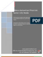 Eldeco Aamantran Price List