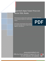 Supertech Apex Tower Price List