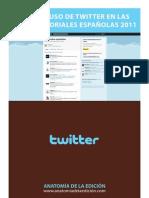 Uso de Twitter en El Sector Editorial 2011
