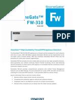 Datasheet StonegateFW 310