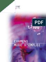 Examens Mode D'Emploi