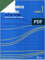 La ingeniería de suelos en las vías terrestres- carreteras- ferrocarriles -  Alfonso Rico Rodríguez-Hermilo del Castillo