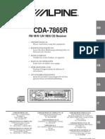 CDA-7865R