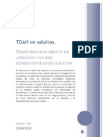Apuntes TDAH en Adultos