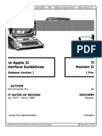 Apple II Human Interface Guidelines 1985