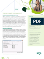Sage ERP 200 WhatsNew 45 Brochure