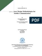 Low Power Design Methodologies Latest