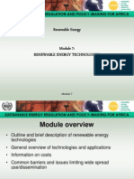 Renewable Energy - Module 7 Presentation