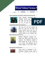 SVFFL 06 07 Spreadsheet
