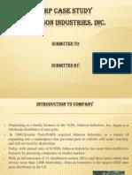 ERP Case Study-Johnson Industries