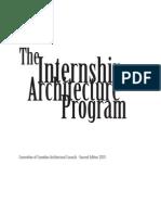 Internship in Architecture Program Manual