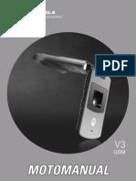 Motorola v3 Manual