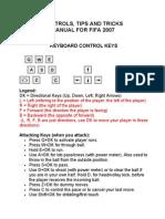 fifa 07  ControlsTipsTricksManual07