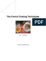 French Cooking Techniques - Part 1
