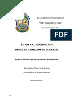 EL ABP Y EL REREBUPLAFO DESDE LA FORMACIÓN DE DOCENTES