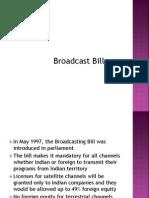 Broadcast Bill