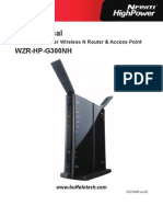 Buffalo WZR HP G300NH User Manual En