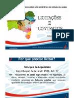 Licitação e Contratos Encontro TCM_UPB