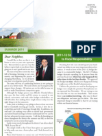 Rep. Evankovich Summer 2011 Newsletter