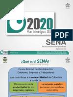 Plan Estratégico SENA 2011-2014 con Visión a 2020