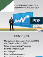 Financial Statement Analysis and Beneish Manipulation Index