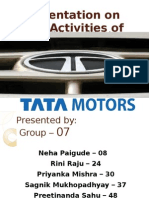 Csr- Tata Motors Group 7