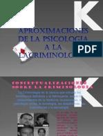 Aproximaciones de La Psicologia a La Criminologia