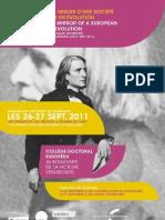 Colloque Liszt Strasbourg -Programme 2011