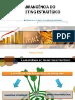 Gestao 2 - Aula 1 - Atividades de Marketing Estrategico