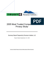 2005 Most Trusted Companies