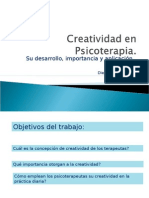 Creatividad en psicoterapia 2010
