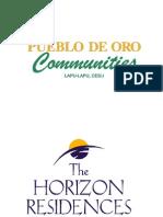 Pueblo de Oro Communities