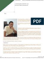 Edward Pacheco Muñiz emite ponencia ante Congreso Latinoamericano