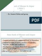 State Bank of Bikaner & Jaipur